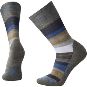 Smartwool Saturnsphere Socks Herre medium gray heather/lt gray heather